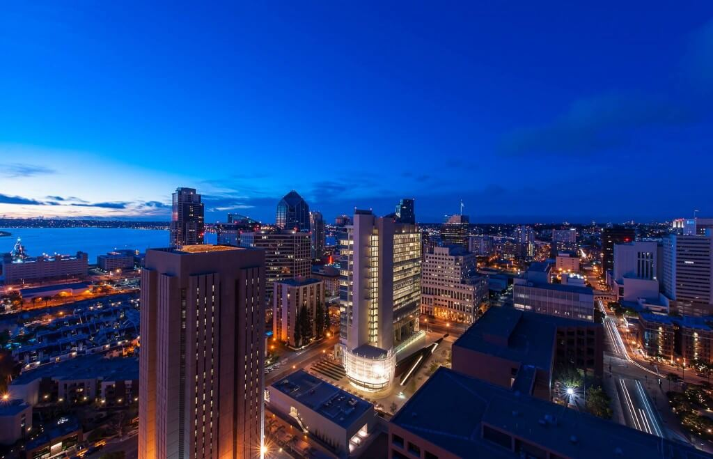 San Diego Downtown Views Architectual Photography