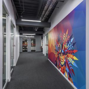 LinkedIn Omaha Wall Art