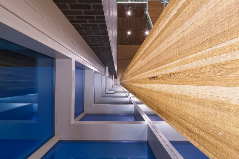 Stairwell | SAC Federal Credit Union - Architectural Photography