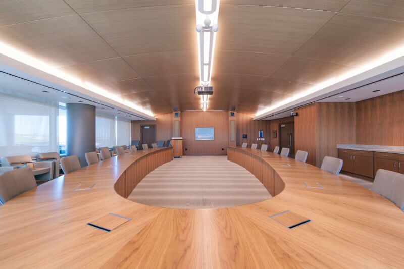 Blue Cross Blue Shield of Nebraska Corporate Headquarters Conference Hall - Architectural Institutional Photography