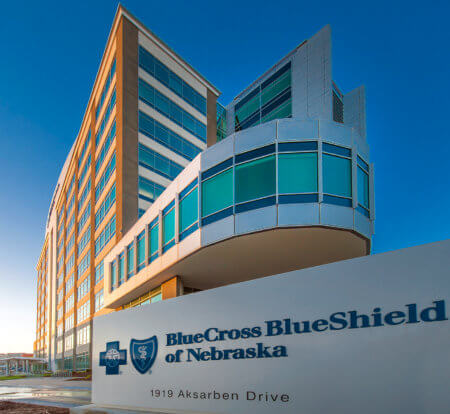 lue Cross Blue Shield of Nebraska Corporate Headquarters - Architectural Institutional Photography