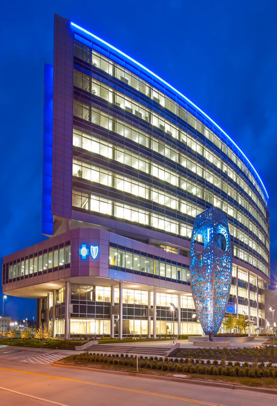 Blue Cross Blue Shield of Nebraska Corporate Headquarters - Architectural Institutional Photography