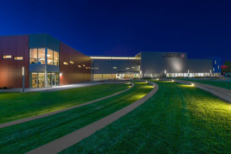 The Salvation Army Kroc Center | Omaha | Architectural Commercial Photography