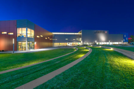 Exterior | Kroc Center Omaha - Architectural Commercial Photography