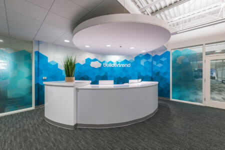 Reception | Buildertrend Omaha - Architectural Commercial Photography