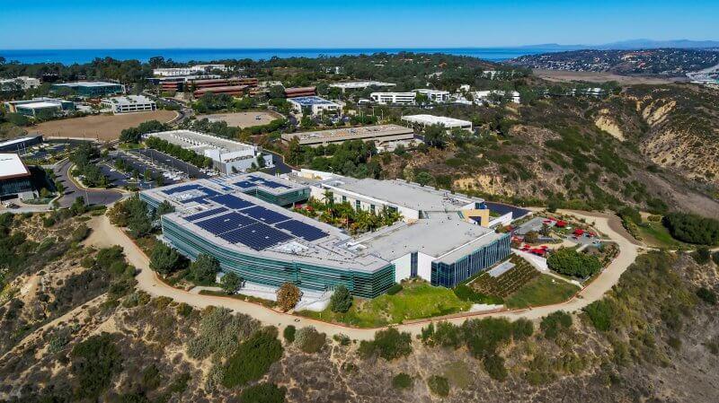 Janssen Pharmaceuticals, La Jolla CA - Architectural Aerial Photography