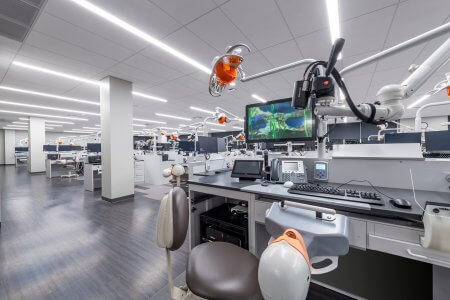 Science Lab Space | Creighton School of Dentistry - Omaha | Architectural Photography