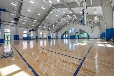 Gymnasium - Ruth Scott Training Center - Creighton University