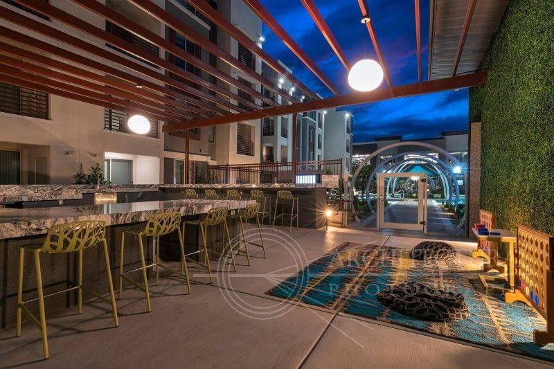 Outdoor Patio | Luxury Apartments