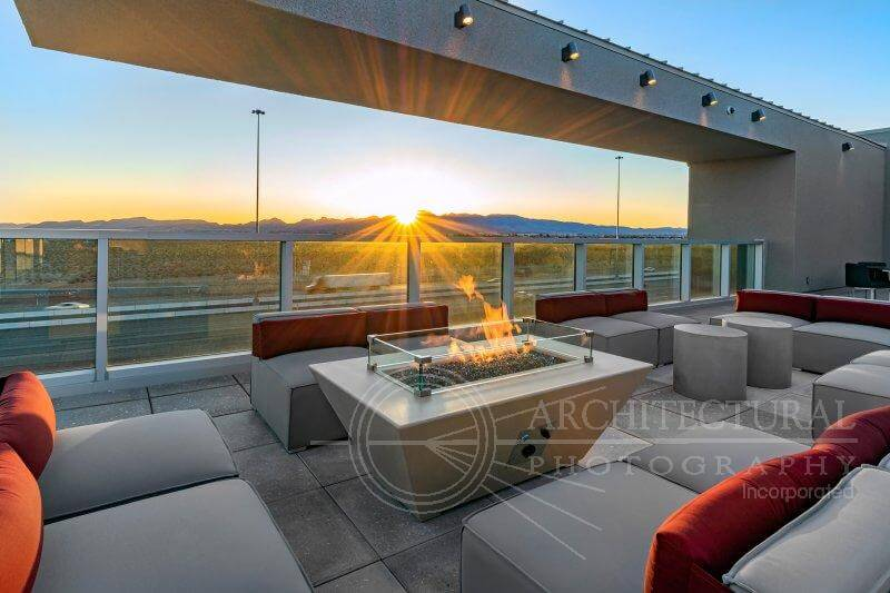 Deck top patio | Kaktus Life Apartments