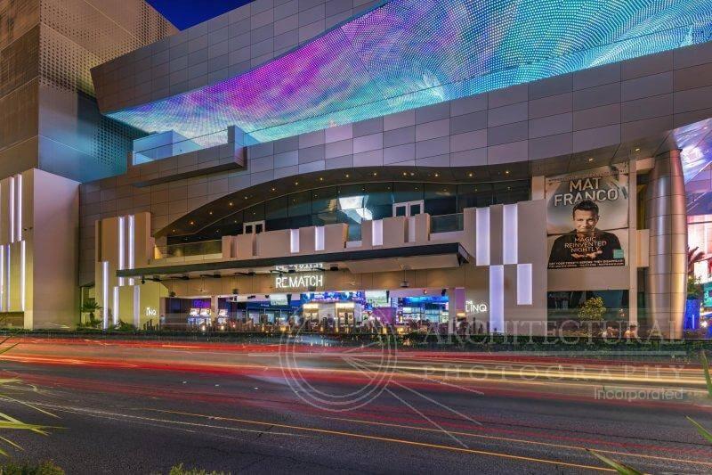 LINQ Casino Entrance